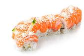 Japanese sushi made of salmon — Stock Photo