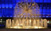 Donetsk , Ukraine 2013 , fountain . — Stock Photo