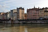 Lyon . View of Lyon . France . — Stock Photo