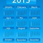 2013 calendar — Stock Photo #15451431