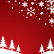 Christmas background vector — Stock Photo