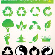 Recycle icons vector — Stock Photo #22502171