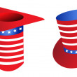 Stock Photo: Uncle Sam Hat