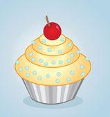Vector cupcake — Stock Photo