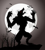 WereWolf — Stock Photo
