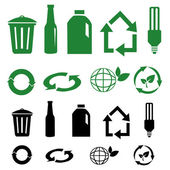 Vektor-recycling-zeichen — Stockfoto