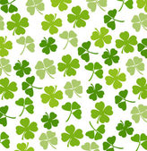 St. Patrick's day vector background with shamrock — Stock Photo