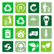 Vector recycle signs — Stock Photo #51154501