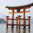 itsukushima shrine — Stock Photo