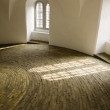 Inside the round tower of Copenhagen — Stock Photo