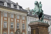 Statue of Absalon in Copenhagen — Stock Photo