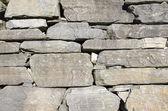 Grey stone wall background pattern — Stock Photo