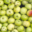 Apples in a water bath — Stock Photo