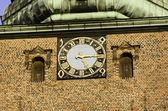 Church clock — Stock Photo