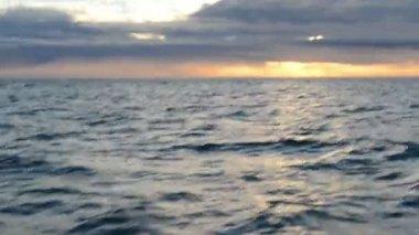 Deniz manzarası — Stok video
