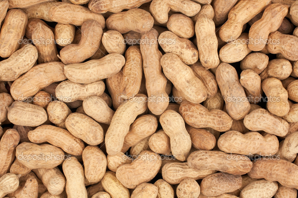 A bunch of peanuts can be used as background  Stock Photo #13840680