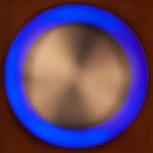 Bokeh blue circle — Stock Photo
