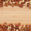 Mixture of nuts — Stock Photo