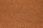Background out of granulated coffee — Stock Photo