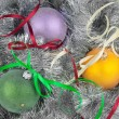 Christmas ball and decoration — Stock Photo #35008775