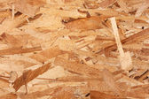 Texture  oriented strand board — Stock Photo