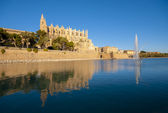 Catedral of Palma de Mallorca — Stock Photo