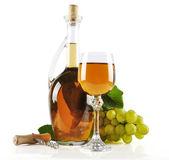 Bílé víno — Stock fotografie
