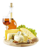 Different kind of cheese — Stock Photo
