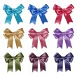 Set of ribbon bows — Stock Photo #14460007