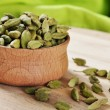 Green Cardamom Pods — Stock Photo