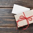 Vintage gift box — Stock Photo #18660011