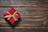 红色礼品盒 — 图库照片