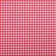 Red checkered fabric - Stock Photo