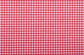 Red checkered fabric — Stock Photo