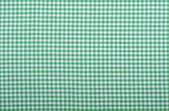 Karierte grüne stoff — Stockfoto