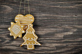 Christmas Ginger and Honey cookies — Foto Stock