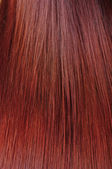 Red hair texture — Stock Photo