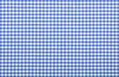 Tecido xadrez azul — Foto Stock