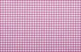 Pink checkered fabric — Stock Photo