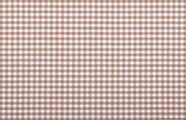 Brown checkered fabric — Stock Photo