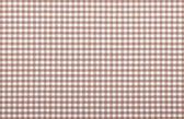 Tecido xadrez marrom — Foto Stock