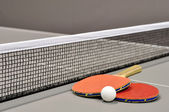 Equipment for table tennis — Stock Photo