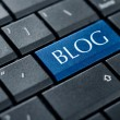 Stock Photo: Concepts of blogging