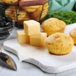 Homemade cheese muffins — Stock Photo #21915041
