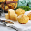 Homemade cheese muffins - Foto de Stock