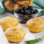 Homemade cheese muffins — Stock Photo #21915049