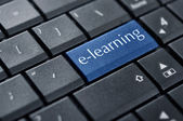 Concepts of E-learning — Stock Photo