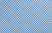 Blue checkered fabric — Stock Photo