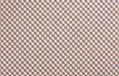Brown checkered fabric — Stock Photo