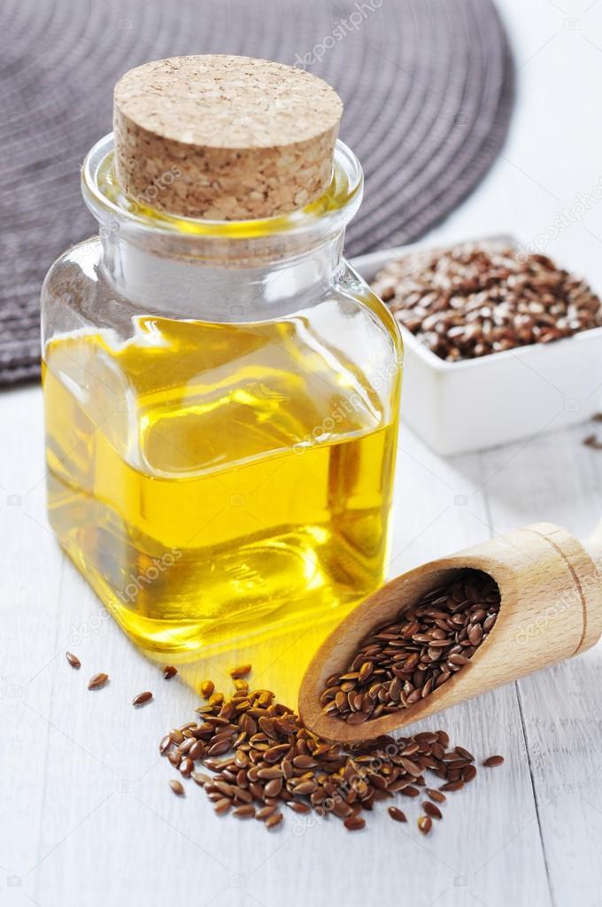 Семя льна с оливковым маслом
